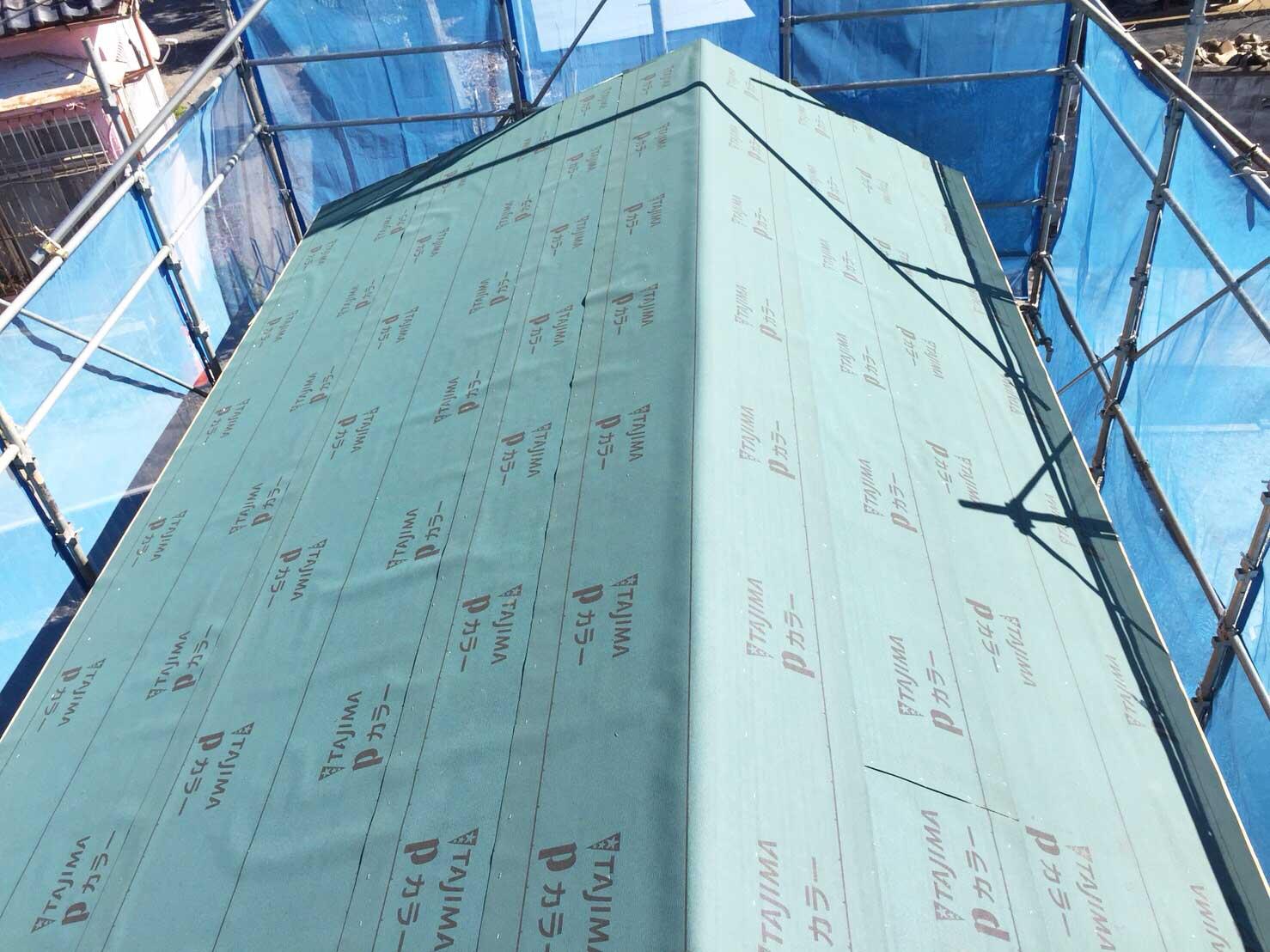 屋根工事の続き