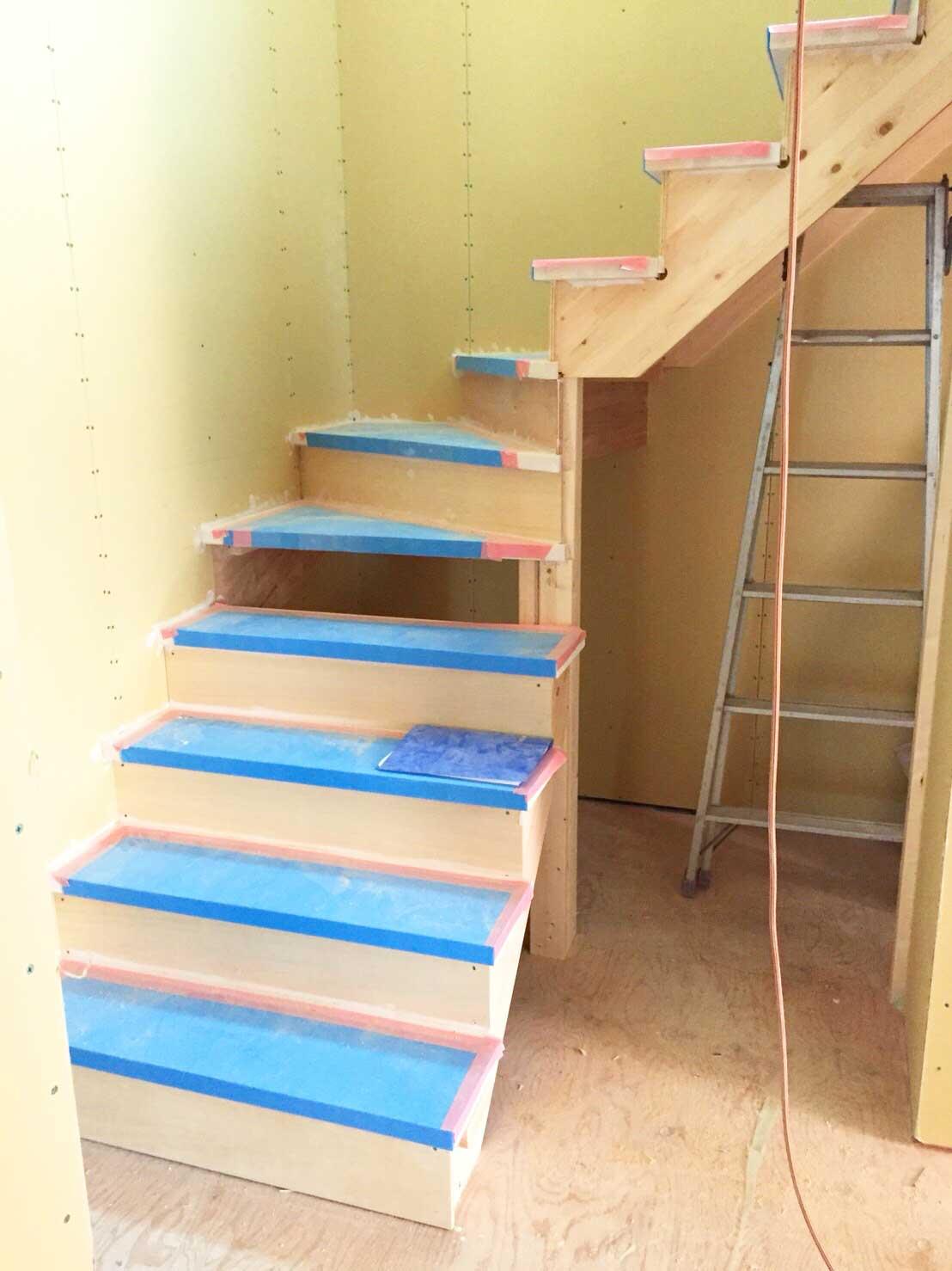 階段を造る