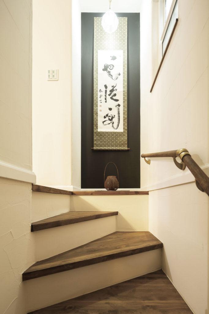 階段框 デッドスペース有効活用