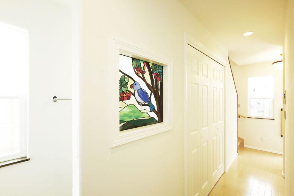 ステンドグラス 飾り壁