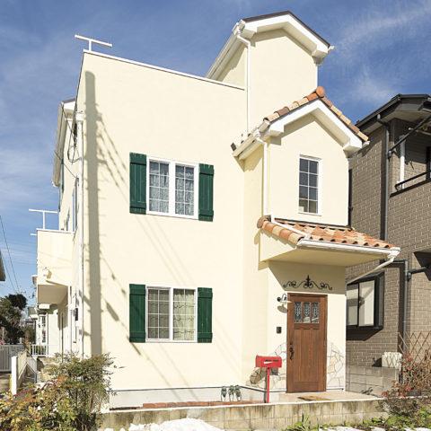 家族みんなで楽しみながらデザインした住宅