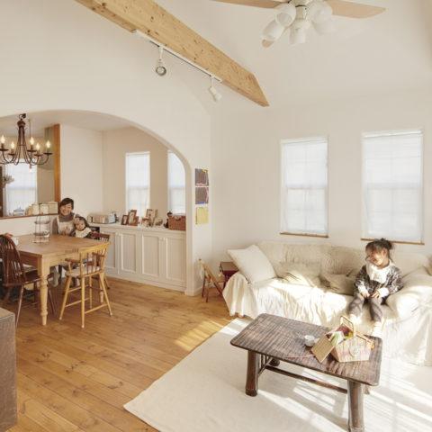 素敵な雑貨が似合うナチュラル住宅、素敵なライフスタイルを実現