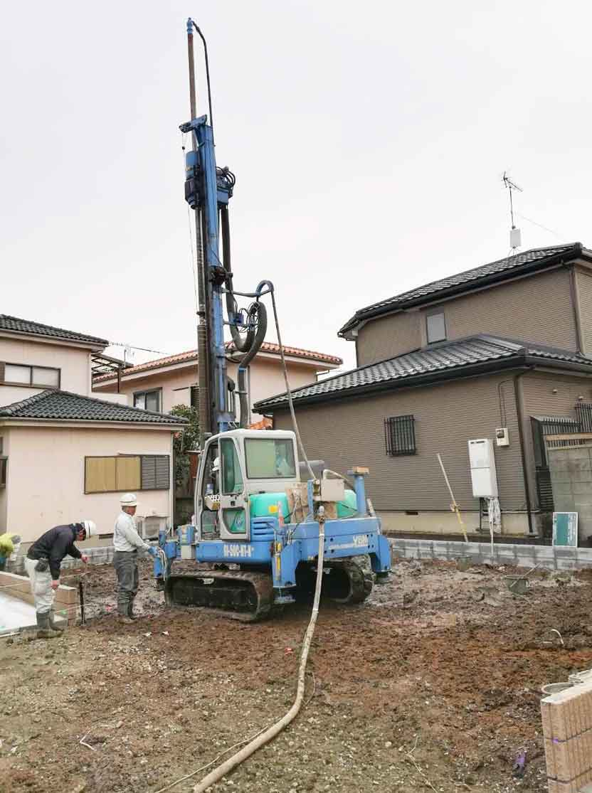 地盤調査と地盤改良