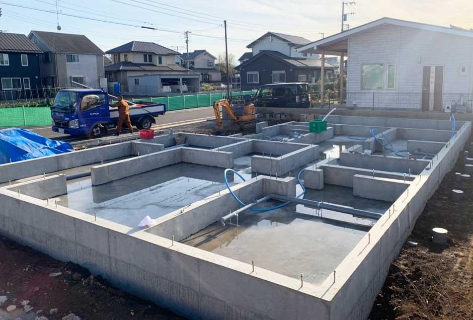 給排水管の工事