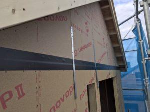 2階施工〜屋根完成